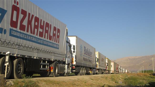 Irã registra aumento de 13% no trânsito de mercadorias