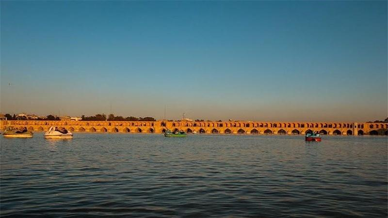 Venha conosco ao Irã - 20 - província de Isfahán - rio Zayandeh-rud