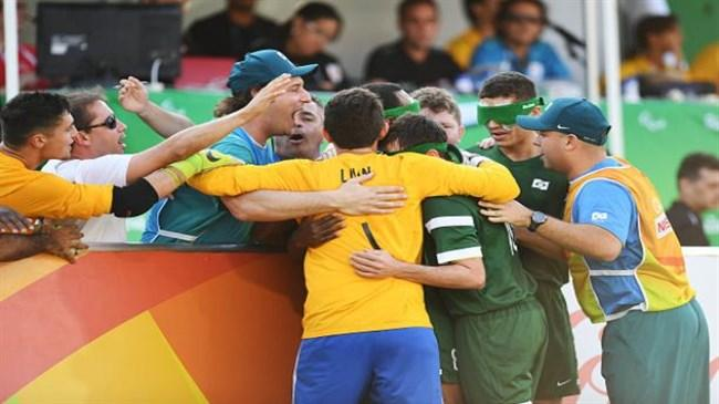 Brazil claims gold, Iran stands second in Paralympic 5-a-side meet