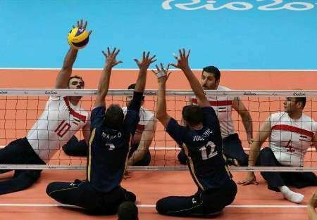 Time de vôlei sentado do Irã ganha medalha de ouro na Paralimpíada Rio 2016