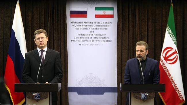 Irã e Rússia desenvolvem pacote de projetos conjuntos.