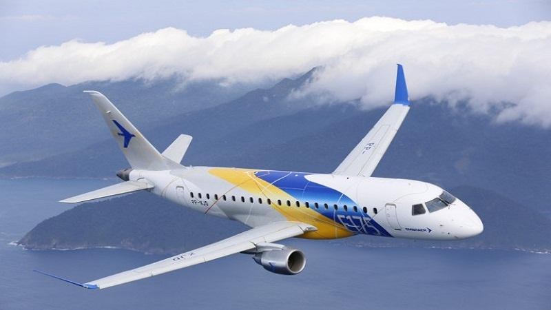 Embraer obtém certificado para comercializar e operar E170s e E175s na Rússia