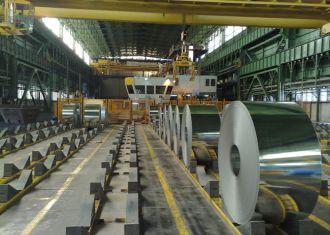 Irã exporta 1.33m de toneladas de aço bruto desde março 2014