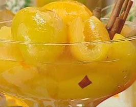 Doce de laranja em calda