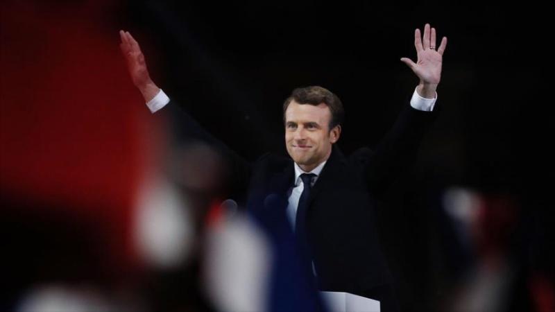 Líderes mundiais felicitam o novo presidente da França