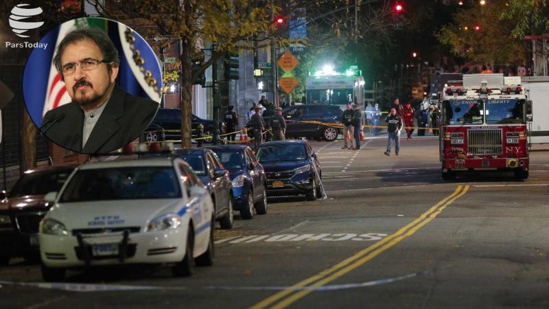 Irã condena ataque terrorista em Nova York
