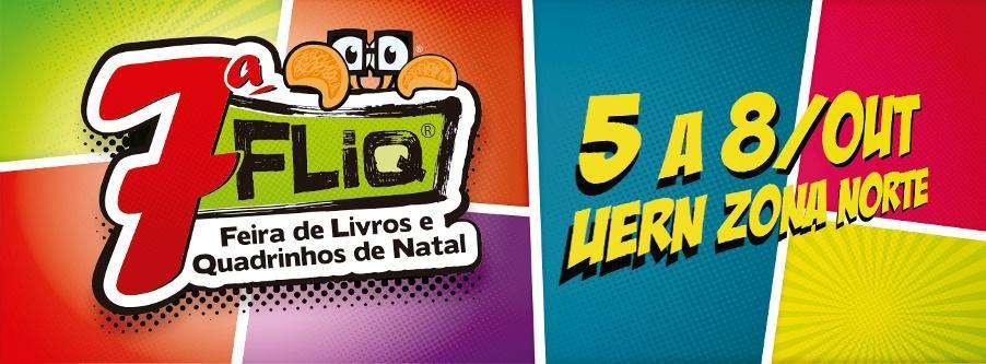 7th FLiQ – Books and Comics Fair of Natal