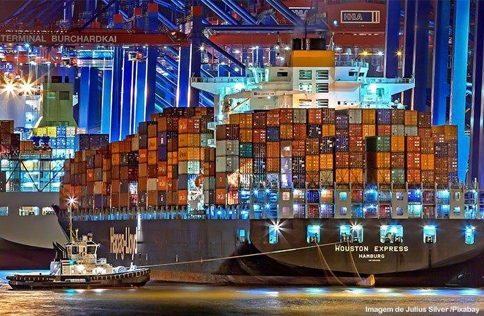 Balança comercial registra superávit de US$ 1,646 bilhão na primeira semana de dezembro
