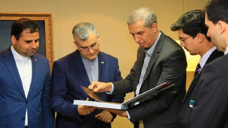 Embaixador do Irã no Brasil foi recebido pelo governador de Estado de Goiás