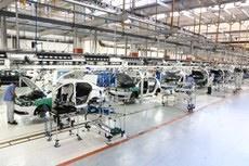 Produção de veículos sobe 17,9% em julho, diz Anfavea