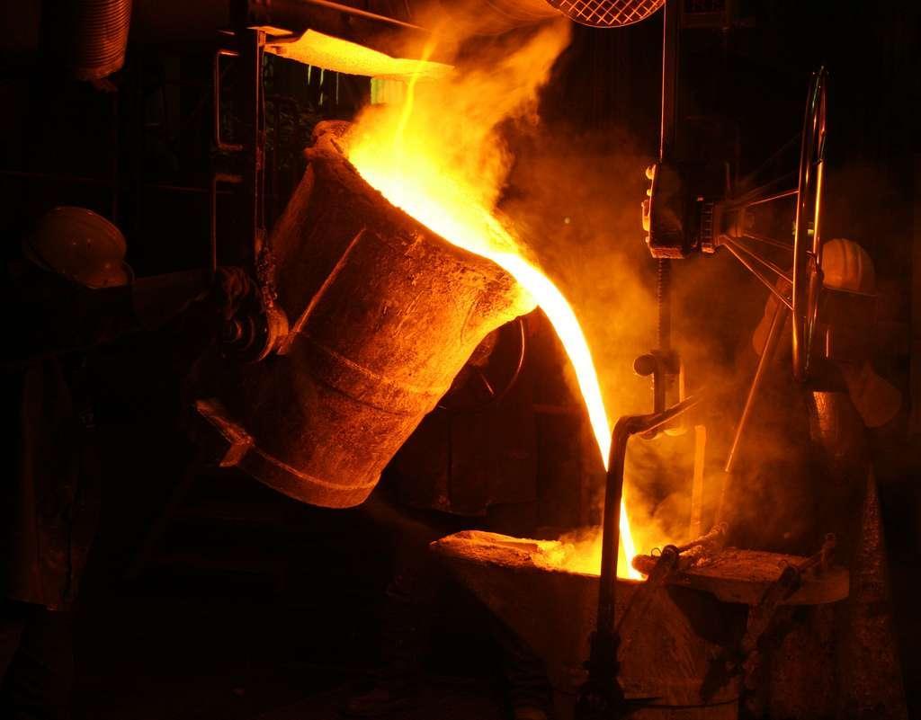 A produção de aço bruto do Irã sobe 3% em 5 meses.