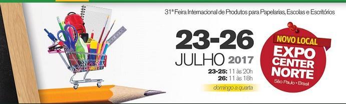 31ª Feira Internacional de Produtos para Papelarias, Escolas e Escritórios
