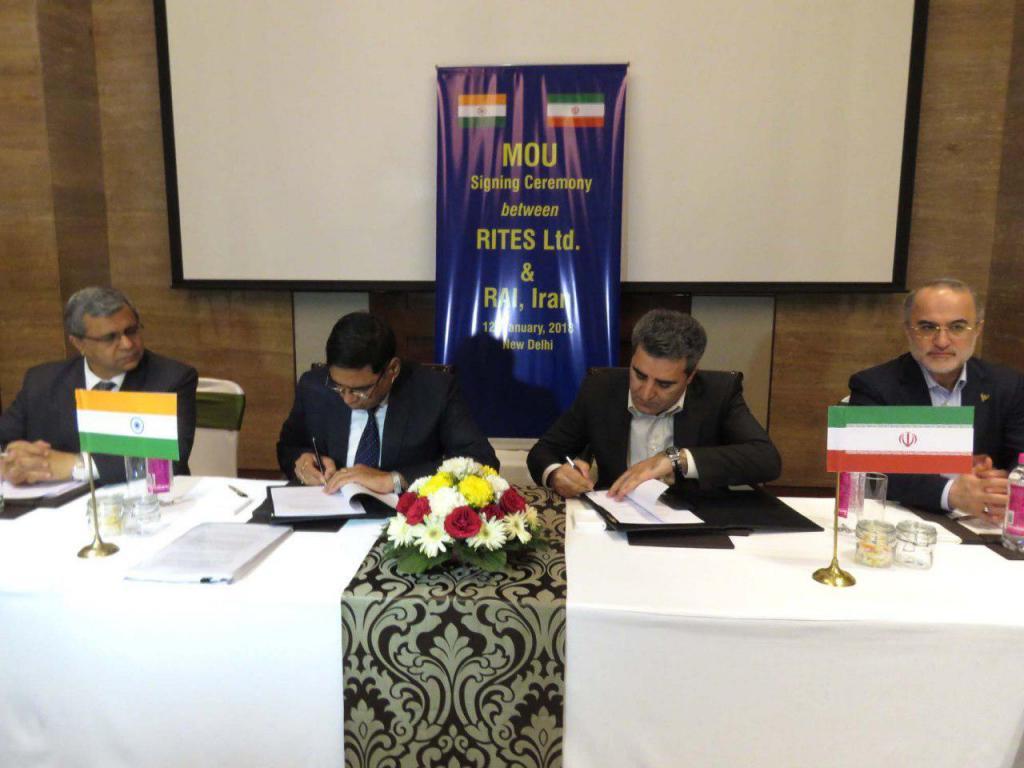Irã assina MoU com a Índia para comprar 200 locomotivas