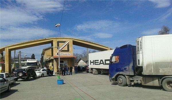 Irã exporta US $ 410 milhões em mercadorias não petrolíferas da província do norte do pais