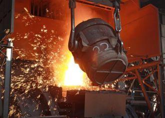 9 meses produção de aço bruto do Irã sobe