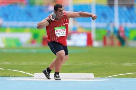 Atleta iraniana ganha medalha de prata no arremesso de peso no Rio