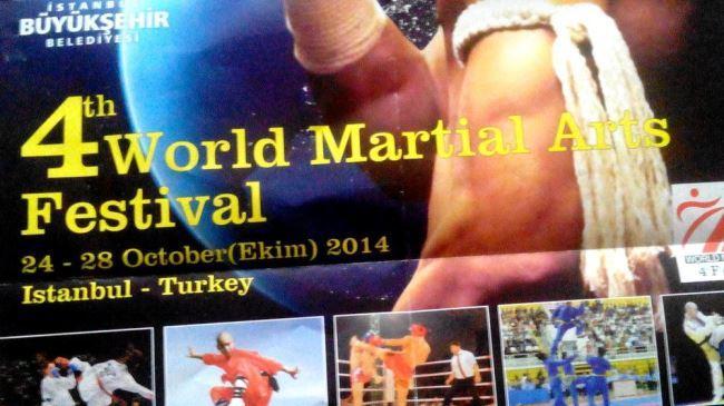 Irã artistas marciais com crista em torneio internacional