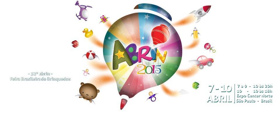 Abrin 2015 - 32ª Feira Brasileira de Brinquedos