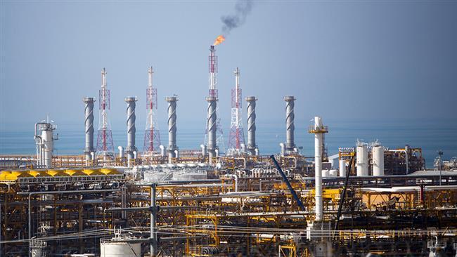As exportações de gás do Irã até 8 por cento em um ano