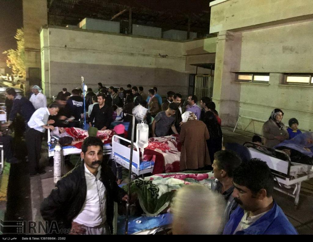 Magnitude 6.4 earthquake hits western Iran, leaves over 700 injured