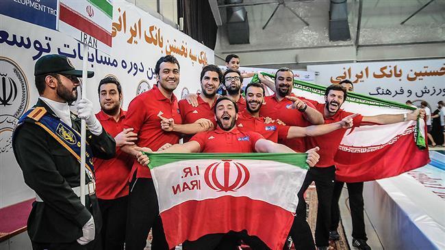 ایران برنده عنوان  قهرمانی بین المللی واترپلو پس از برد  از اروگوئه در فینال این بازی ها