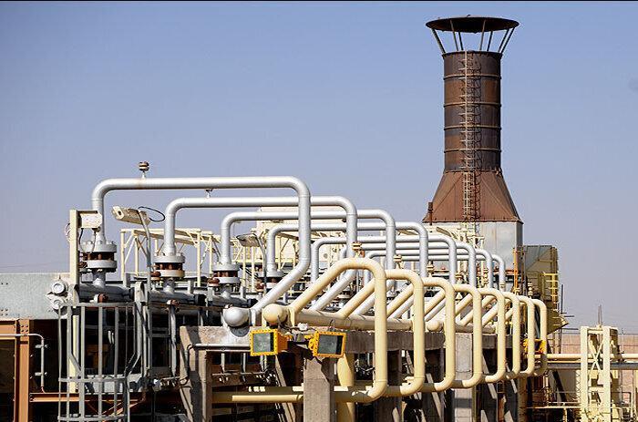 Reprodução anual de gás do Irã aumenta 15%