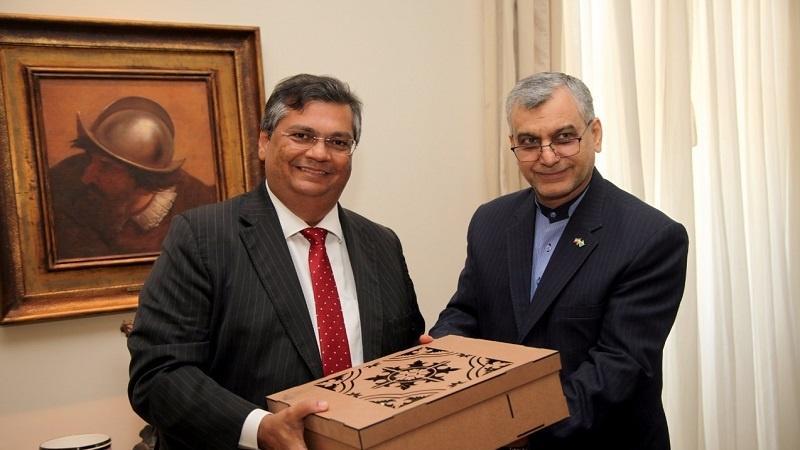 Governador recebe visita de embaixador do Irã sobre investimentos no Maranhão