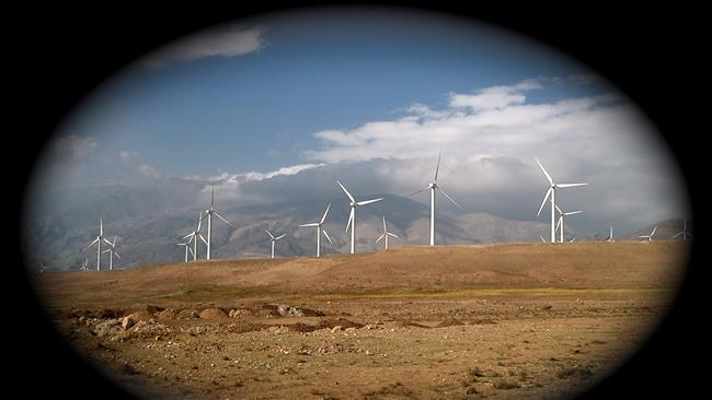 Iran steps up wind power generation