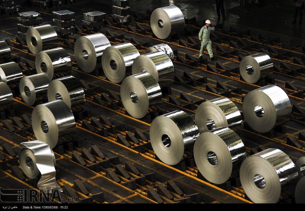 Exportações de aço bruto do Irã aumentam 27% em relação ao ano anterior