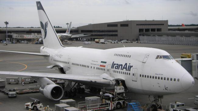 Boeing renega Irã promessa negócio