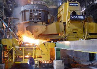 Steel mill comes on stream in southeastern Iran