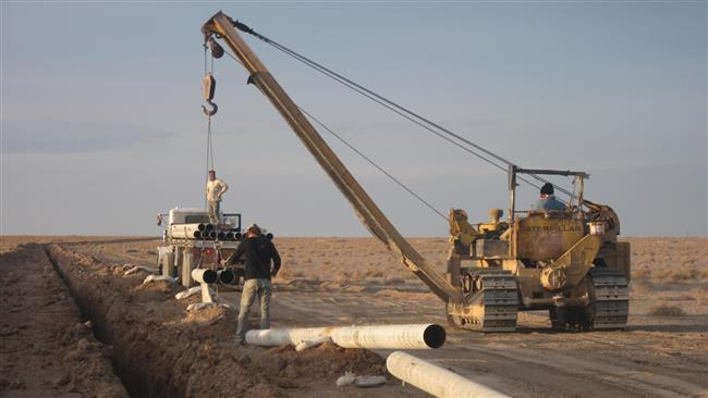 Irã para aumentar a capacidade de transferência de gás