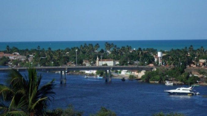 Tourism in Brazil - 0032 - Barra de Santo Antônio - AL