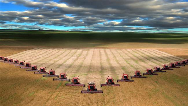 Irã lança primeiro plano agricultura no exterior.