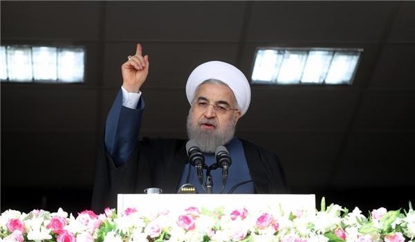O presidente iraniano Hassan Rohani diz que não haverá necessidade de importações gasolina no próximo ano