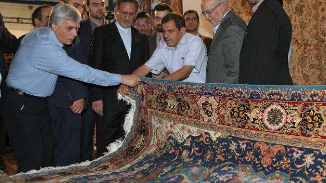 Exposição iraniano Tecidos à mão Carpet 2014 abre em Teerã