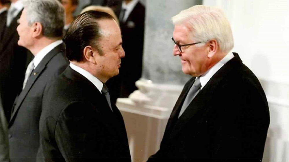 Embaixador do Brasil na Alemanha leva cumprimentos de Temer ao novo Presidente da Alemanha