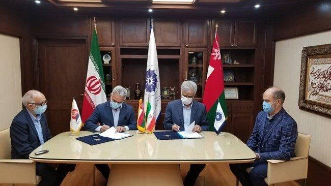 Câmara de Comércio Conjunta Irã-Omã firmou MOU cooperativo com a Casa de Minas do Irã
