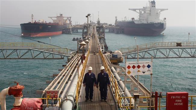Produtos petrolíferos receitas do Irã subir