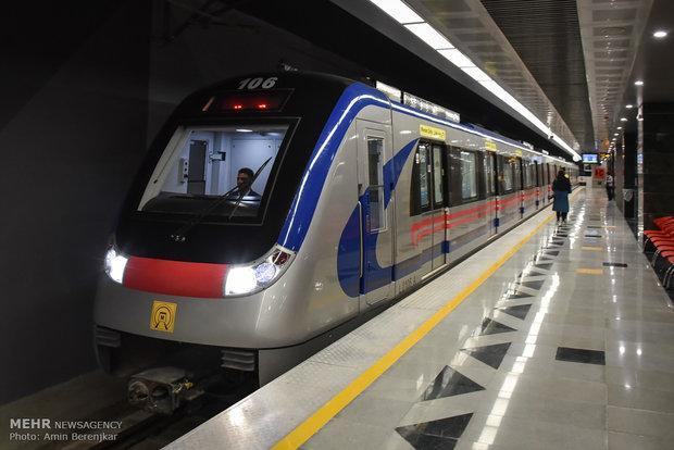 O metrô de Teerã atinge o recorde mundial em número de viagens