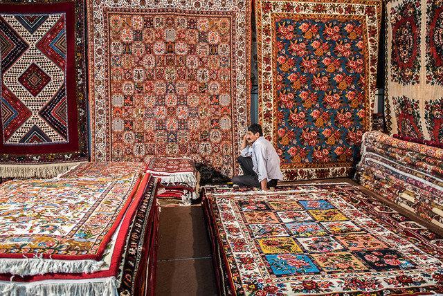 As exportações de tapetes iranianos para os EUA vão de zero a milhões
