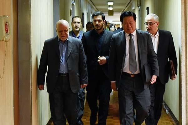 China pronta para usar o petróleo e recursos de gás iranianos