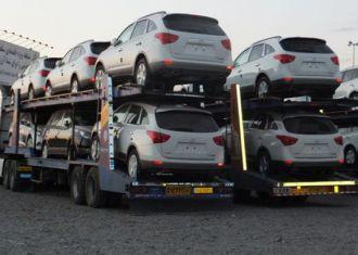 Importações de automóveis do Irã até 61% em nove meses