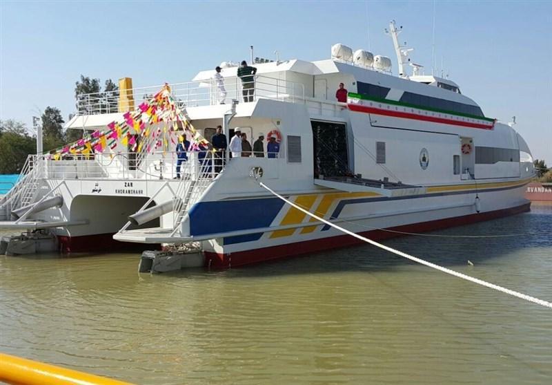 Irã exporta o primeiro navio de Catamarã para a Turquia