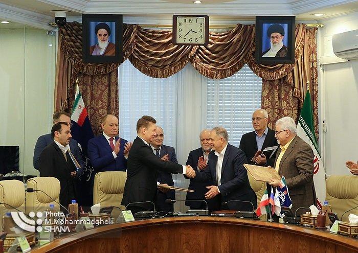 Gazprom assina acordo com Irã sobre projeto de gás de US $ 4 bilhões