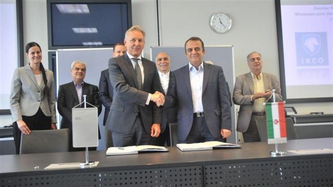 Mercedes-Benz negocia retomada do negócio de caminhões no Irã