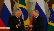 Brasil e Rússia assinam declaração conjunta e atos de cooperação bilateral