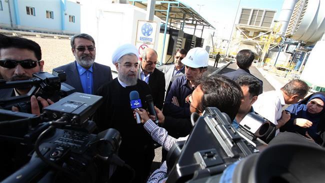 Rouhani diz a economia do Irã melhorando