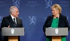 Temer reafirma o compromisso do Brasil com o meio ambiente em Oslo
