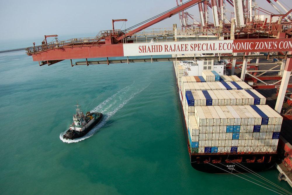 Projetos de cerca de US $ 800 milhões em andamento no porto de Shahid Rajaee
